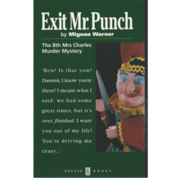 Exit Mr. Punch (The Mrs. Charles Murder Mysteries Book 8) Book